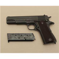 Colt Model 1911 A-1 semi-automatic pistol, .45 caliber, 5 barrel,