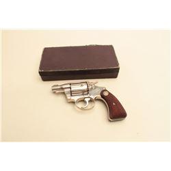 Colt Detective Special D.A. .38 Special revolver with scarce original
