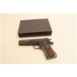 Colt .38 Super S/N 66909 in excellent original condition with
