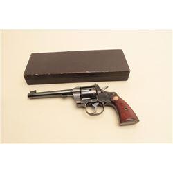 Colt Officers Model Target .22 D.A. Revolver, S/N 16346 made