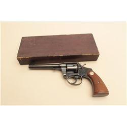 Colt Pre-War Police Positive .38 caliber revolver with scarce 5