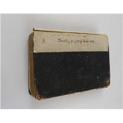 Dorothy B. Getty's Bible (1859) along with writings on paper