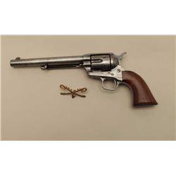 Colt U.S. Cavalry SAA revolver, Ainsworth inspected, .45 caliber, 7.5