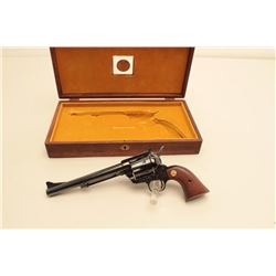 Cased Colt New Frontier revolver, .45 caliber, Serial #09426NF. The