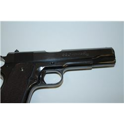 Colt Government Model 1911-A1 semi-automatic pistol, .45 caliber, 5 barrel,