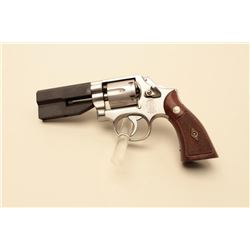 Smith and Wesson Model 66-2 revolver, .38 caliber, Serial #BAR0693.
