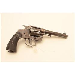 Early Colt New Service DA revolver, .45 Colt caliber, 5.5