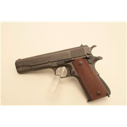 Argentine Colt Model 1927 semi-automatic pistol, 11.25mm caliber, 5 barrel,