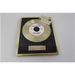 Brian  Buddy gold Record along with Brian's Playboy Calub