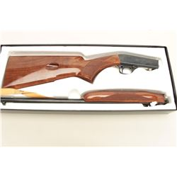 Browning .22 caliber semi-auto takedown rifle, Grade I with a