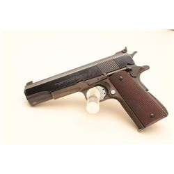 Colt Customized semi-automatic pistol with U.S. Property marked Model 1911-A1