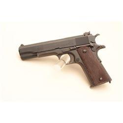 Colt Ace (Service Model) semi-automatic pistol, .22LR caliber, 4.75 barrel,