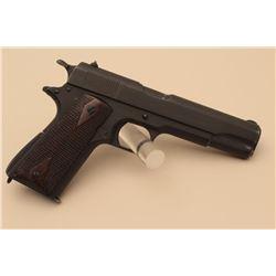Colt U.S. Model 1911-A1 semi-automatic pistol, .45 caliber, 5 barrel,
