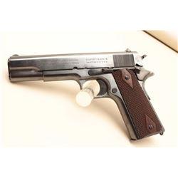 Colt Government Model 1911 semi-automatic pistol, .45 caliber, 5 barrel,