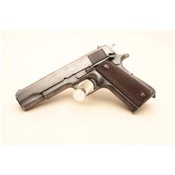 U.S. Property marked Model 1911-A1 semi-automatic pistol by Union Switch