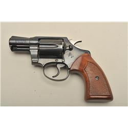 Colt Detective Special DA revolver, .38 Special caliber, 2 barrel,