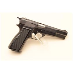 Belgian-made High Power semi-automatic pistol, rare in .30 Luger caliber,
