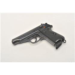Pre-war Walther Model PP Eagle N semi-automatic pistol, 7.65mm caliber,