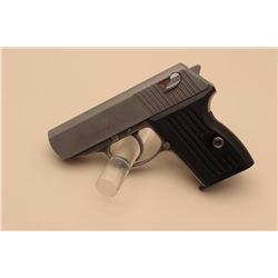 Detonics Pocket 9 Model semi-automatic pistol, 9mm caliber, 3 barrel,