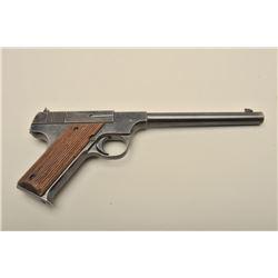 Hartford Arms Co. semi-automatic pistol, .22LR caliber, 6.75 barrel, blued