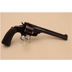 Smith  Wesson top break DA Target revolver, .38 caliber,