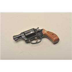 Smith  Wesson Model 36 DA revolver, .38 Special caliber,