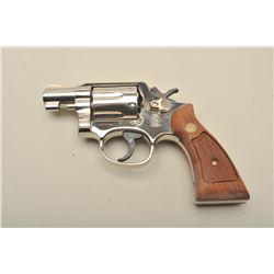 Smith  Wesson Model 12-3 Airweight DA revolver, .38 Special