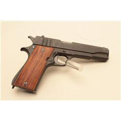 Argentine Ballester Molina semi-automatic pistol marked REPUBLICA ARGENTINA ARMADA NACIONAL,