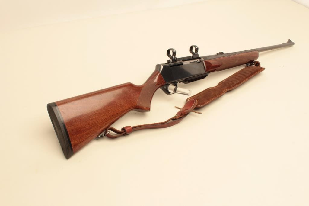 Belgian-made Browning BAR semi-automatic rifle, 7mm Rem  Mag