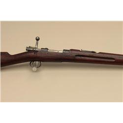 Carl Gustafs Mauser bolt action rifle, 6.5mm Mauser caliber, import-marked,