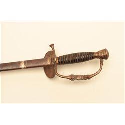 Civil War era Model 1860 Officers Staff and Field sword