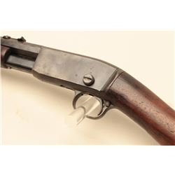 Remington pump action rifle, .22 Rem. Special caliber, 24 octagon