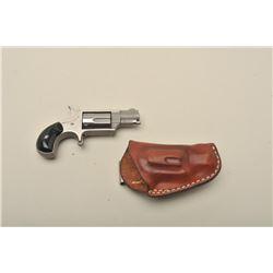North American Arms Corp. mini spur trigger revolver, .22LR caliber,