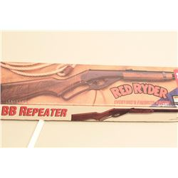 Daisy Red Ryder bb-rifle, in the original factory box. The