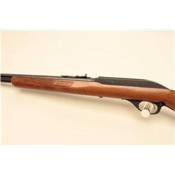 Glenfield Model 60 semi-automatic rifle, .22LR caliber, black finish, wood