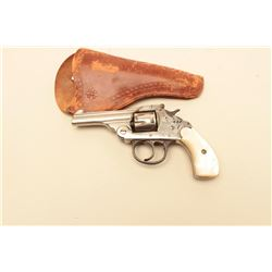 Iver Johnson .22 caliber Double Action Revolver with last patent