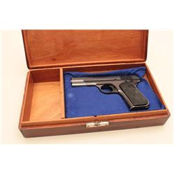 Colt Model 1903 semi-automatic pistol, .32 caliber, 3.75 barrel, blued
