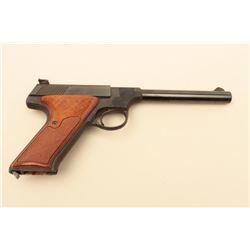 Colt Targetsman (Late Woodsman Series) .22 caliber Semi-Auto pistol, S/N
