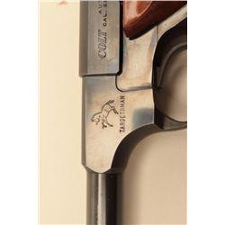 Colt Targetsman .22 caliber (Late Woodsman) series Semi-Auto pistol, S/N