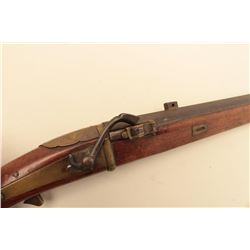 Japanese Matchlock pistol in classic form with 10  barrel