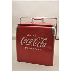 Coke Cooler made for special promotion representatives to deliver Coke.