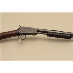 Winchester Model 1890 pump action rifle, .22 W.R.F. caliber, 24