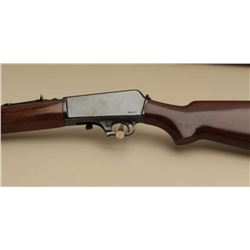 Winchester Model 07 S.L. semi-auto rifle, .351 caliber, Serial #50014.