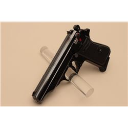 Walther Model PP semi-automatic pistol, 7.65mm caliber, 3.75 barrel, blued
