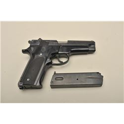 Smith  Wesson Model 59 semi-automatic pistol, 9mm caliber, 4