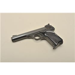Browning semi-automatic pistol, .380 caliber, 4.5 barrel, blued finish, checkered