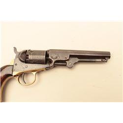 1849 Colt Pocket Model .31 caliber percussion revolver with a