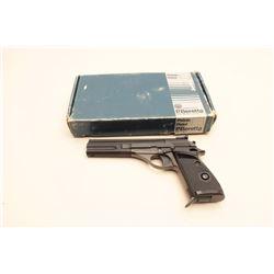 Beretta Model 76 semi-automatic pistol, .22LR caliber, 5.75 barrel, blued