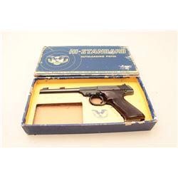 Hi-Standard Dura-Matic Model semi-automatic pistol, .22LR caliber, 6.5 barrel, blued