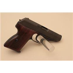 Mauser Model HSc semi-automatic pistol, 7.65mm caliber, 3.25 barrel, re-parkerized